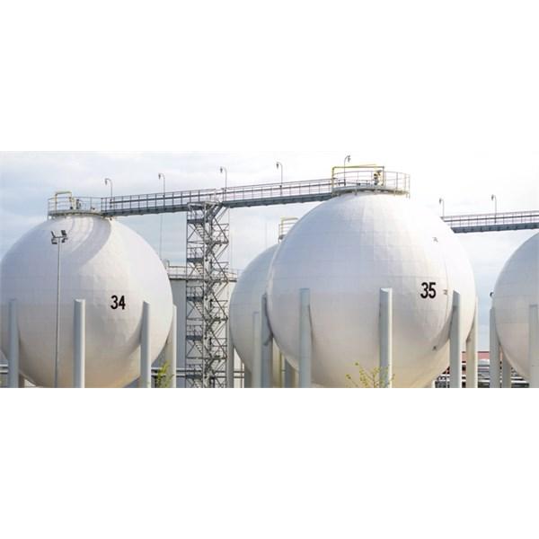 Refrigerated LNG tanks