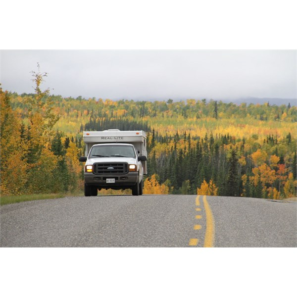 Autumn colours on the AlCan Highway