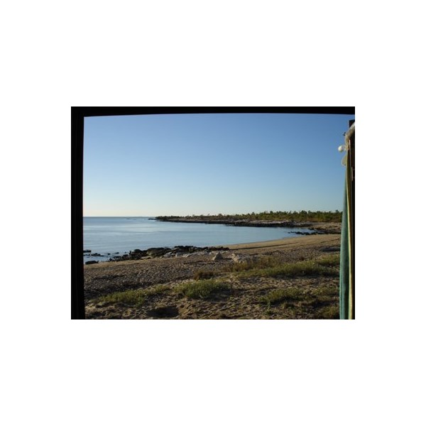 View from the door at McGowan's Island Beach