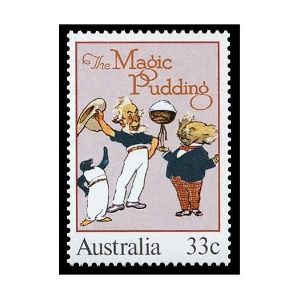 The Magic Pudding 33c Stamp