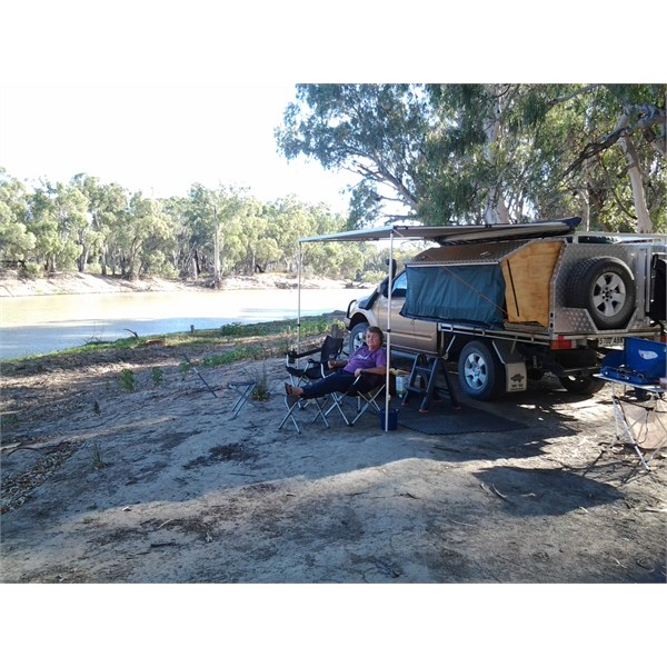 Chillin' by the Murray River