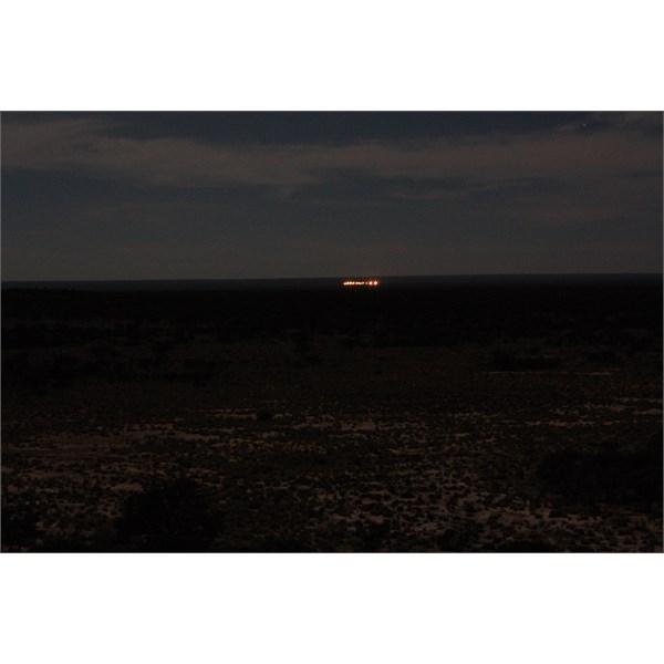 Eastern Radar at night