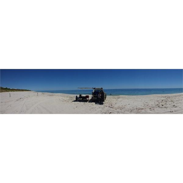 Where is everyone? - Peppermint Grove Beach  (WA) March 2014