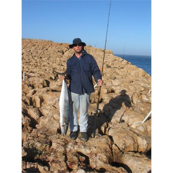 Nephew Pete's fish