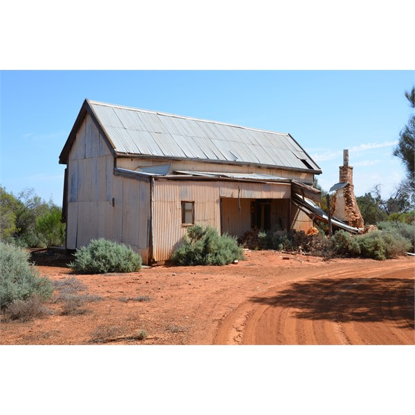 This old school building was shipped in from Burra to Morgan Vale over 100 Years ago