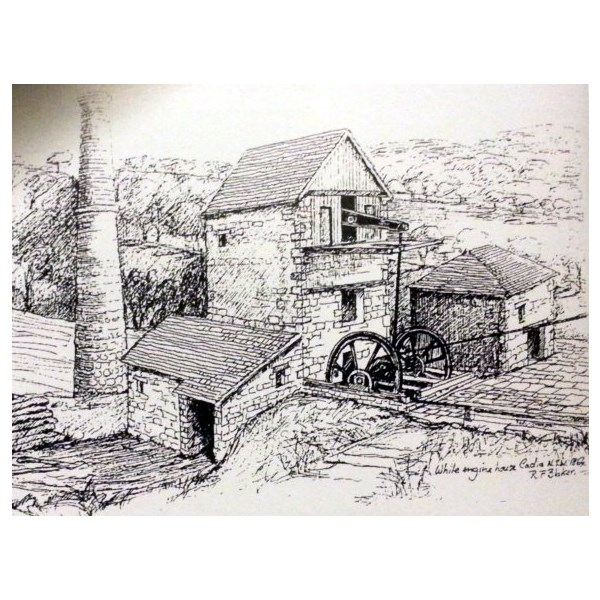 Sketch of The Cornish Engine House