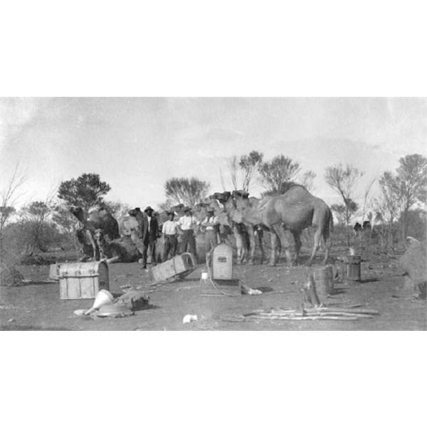 Leaving Wiluna 1914