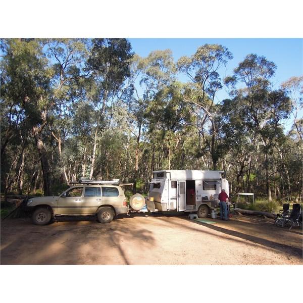 Camping at Goobang National Park nr Parkes NSW April 2014