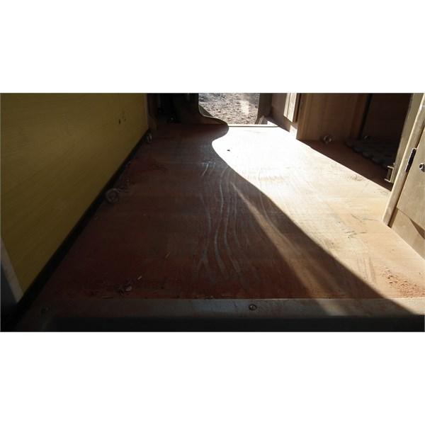 dust on floor