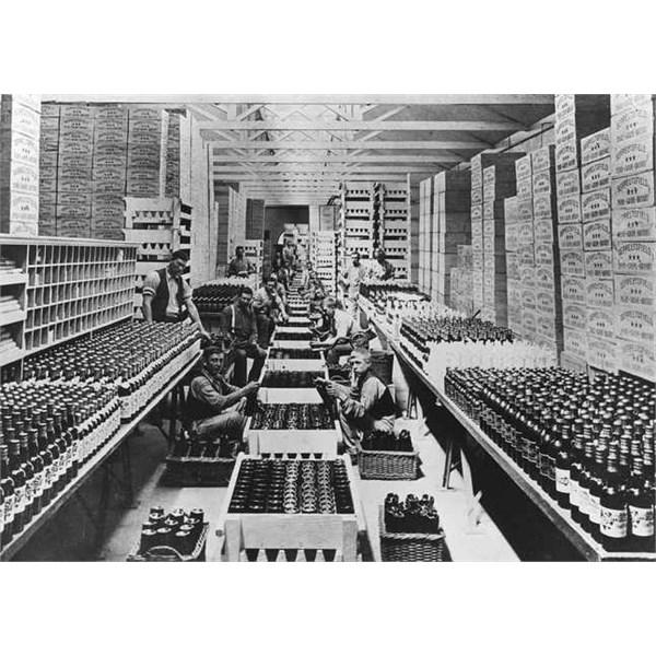 Seppeltsfield bottling hall 1890