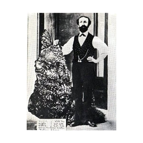 Holtermann's Nugget, unearthed in 1872