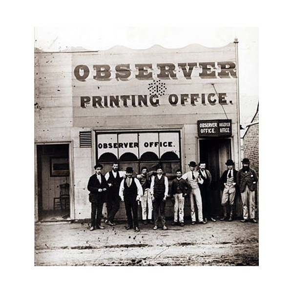Hill End Observer Printing Office
