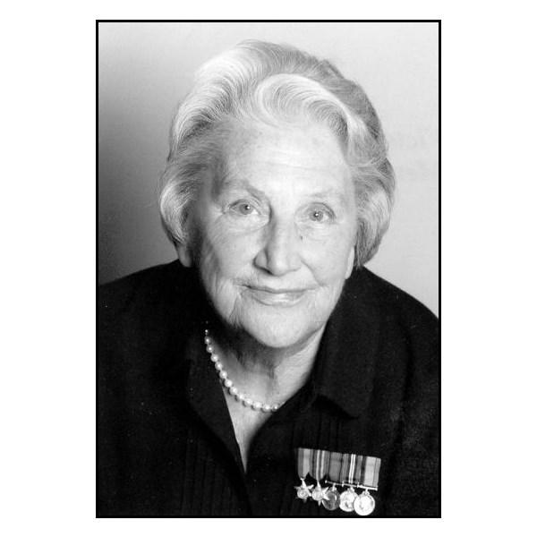 Betty Jeffrey OAM, RN