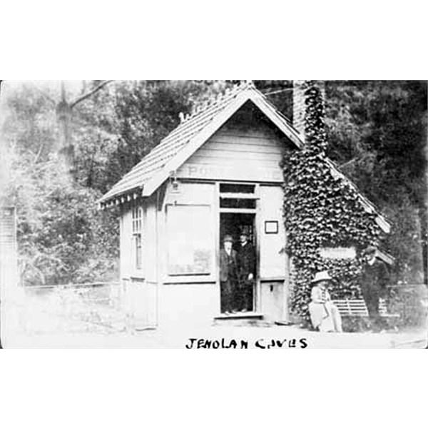 Jenolan Caves post office, 1897
