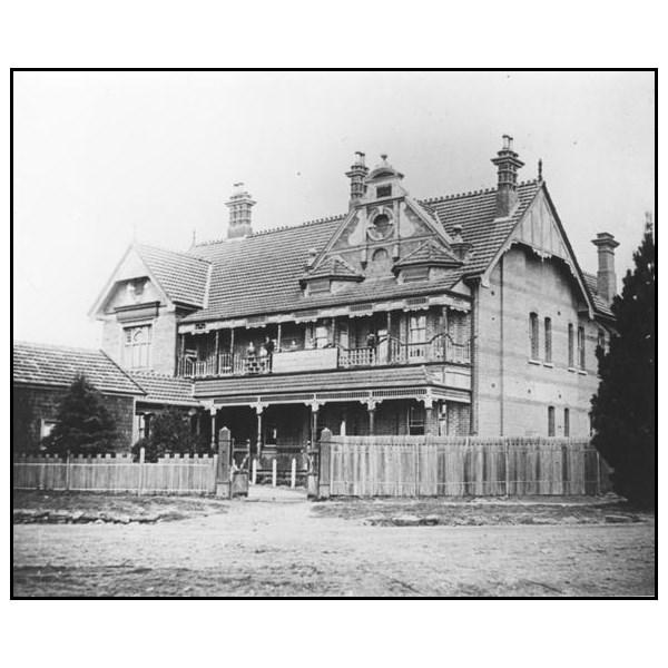 The Belgravia Hotel in 1910