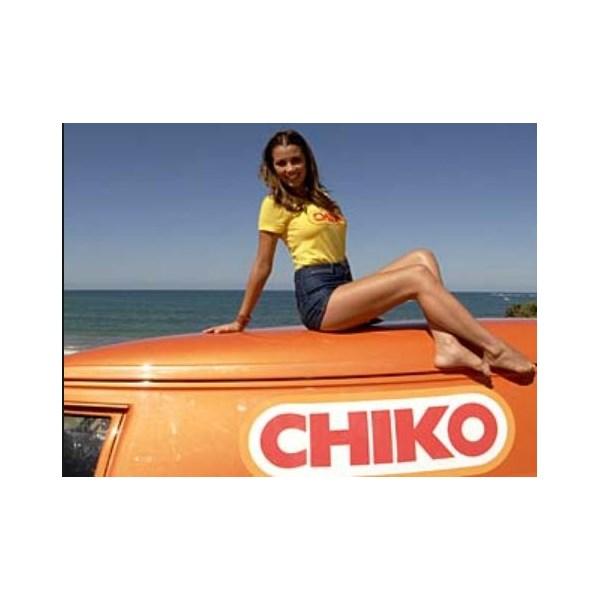 Chiko Girl on a Van