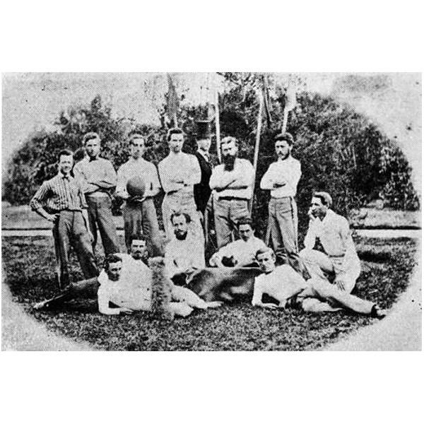 Soccer Team Brisbane 1870