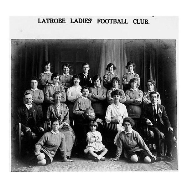 Latrobe Ladies Soccer Team 1921