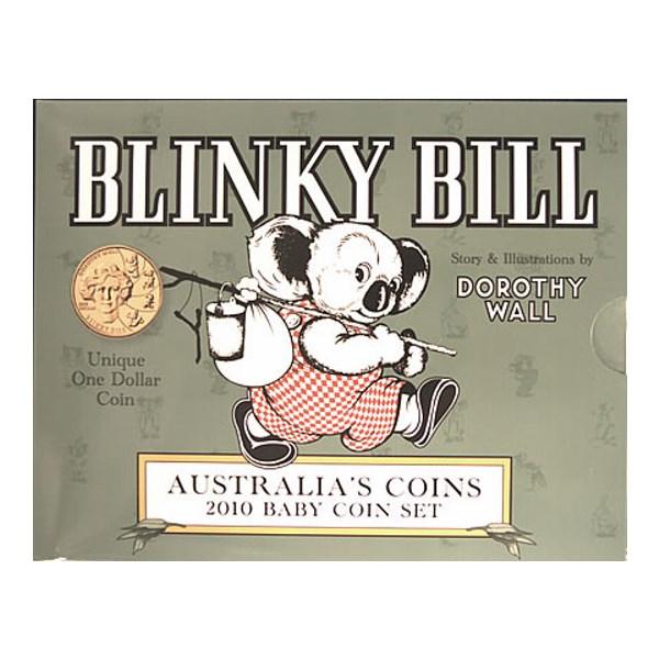2010 Australian Uncirculated Baby Coin Set Blinky Bill