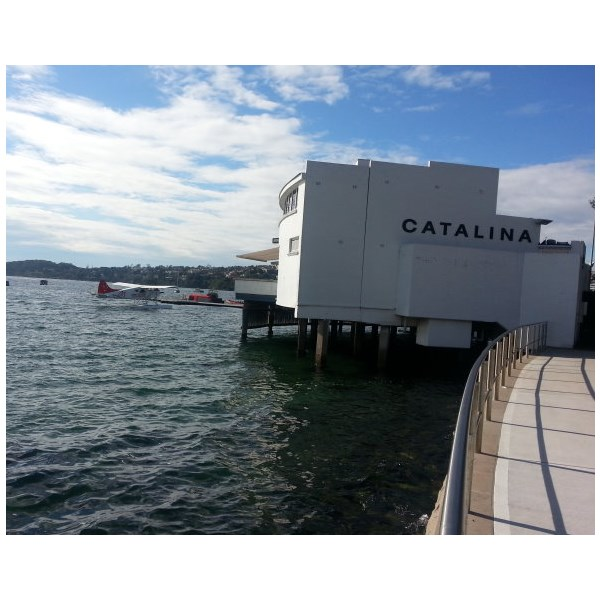 Rose Bay Terminal and Catalina Restaurant