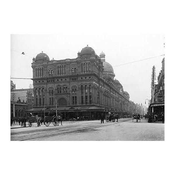 Queen Victoria Building, 1898