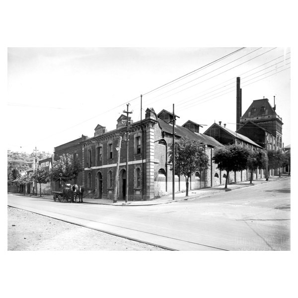 The Emu Brewery in the 1900s