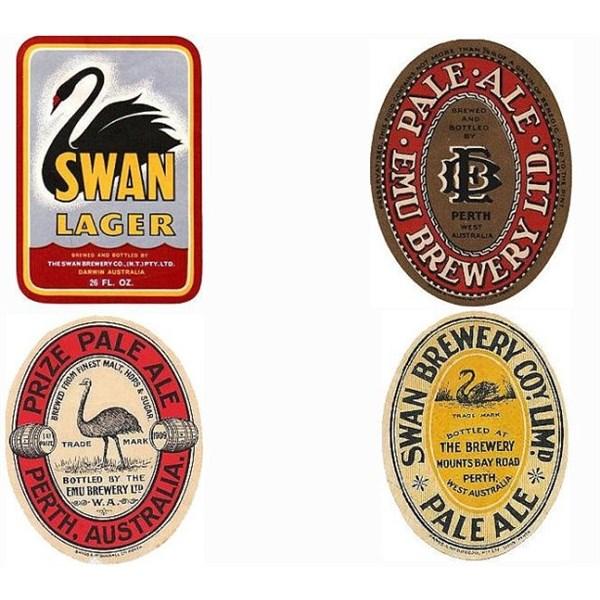 4 Old Labels