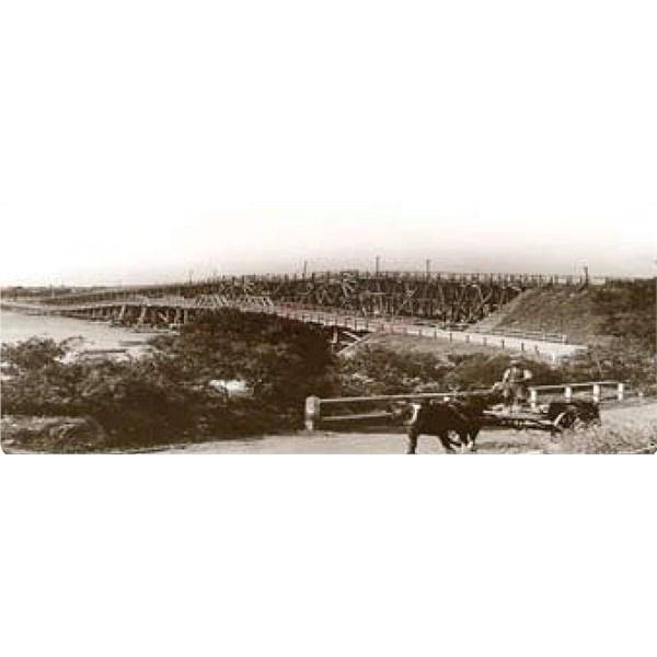 Low Level Bridge circa 1900.