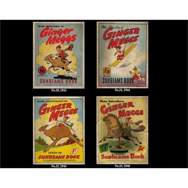 4 Ginger Meggs Sunbeams Books