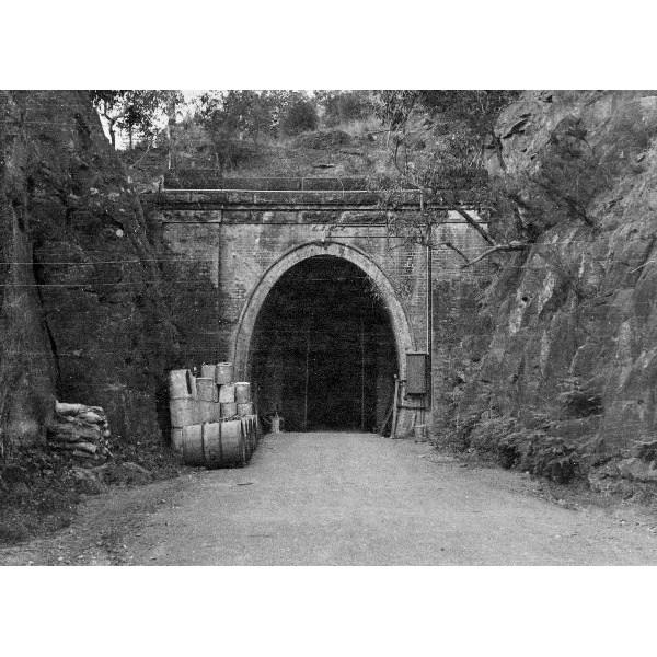 Mustard gas storage - Western end of Glenbrook Chemical warfare storage tunnel