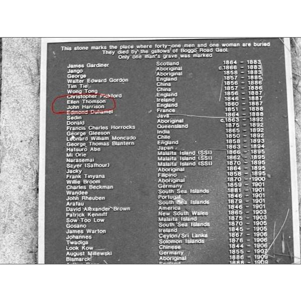 Boggo road jail execution list