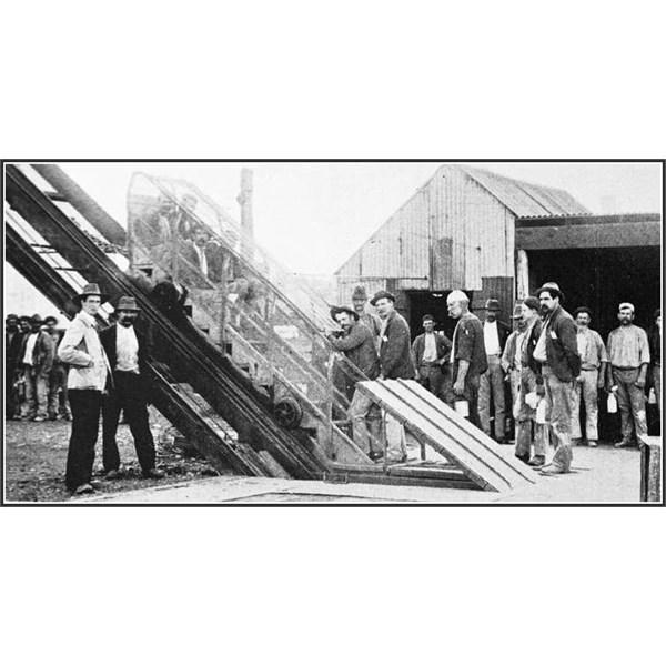 man-cage Wentworth mine