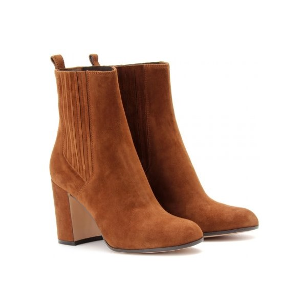 One for the Ladies, Suede Ankle Boots