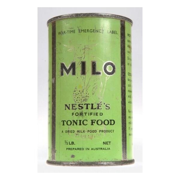 Wartime era tin of Milo