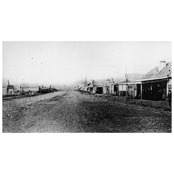 Ruthven Street, Toowoomba 1870's