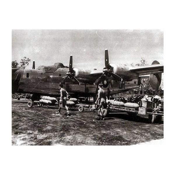 B-24 Liberator of 24 Squadron RAAF