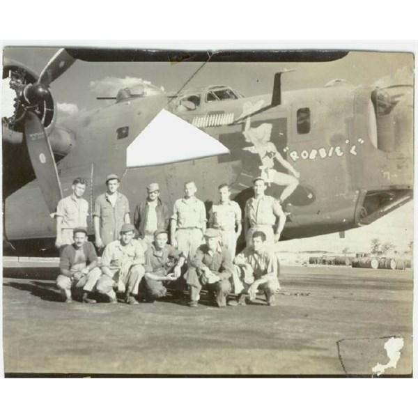The crew of 10 of Robbie L II