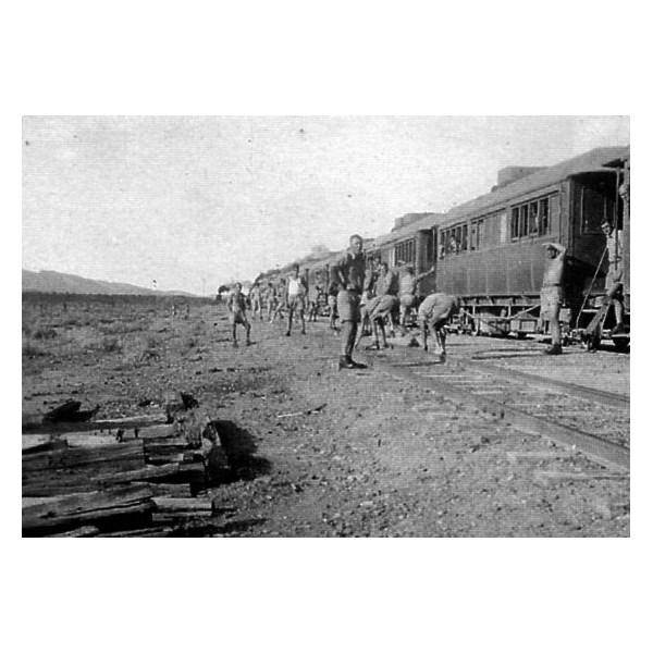 Troop Train near Hawker