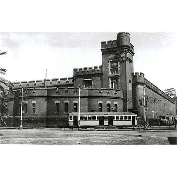 Fort Macquarie Tram Sheds 1940's