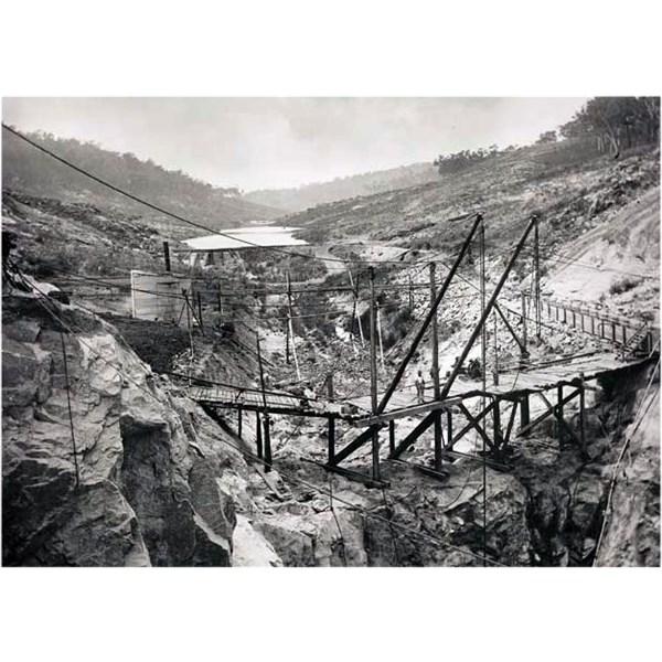 Mundaring Weir Construction