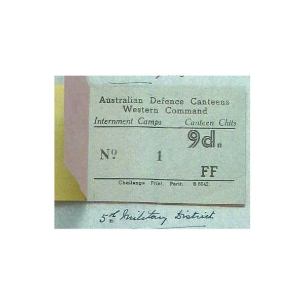 Internment Camp Nine Pence