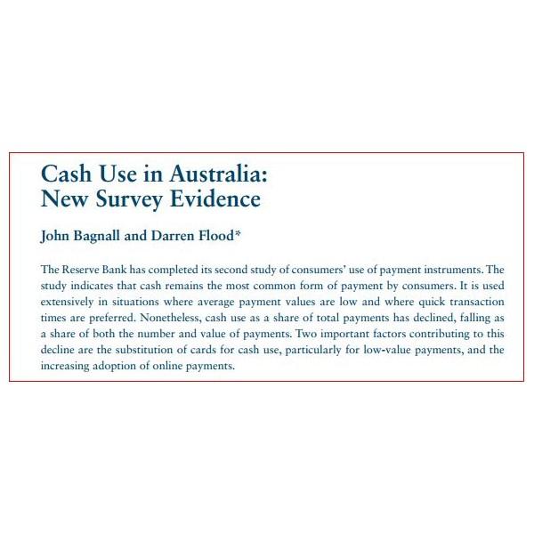 Cash Transactions in Australia