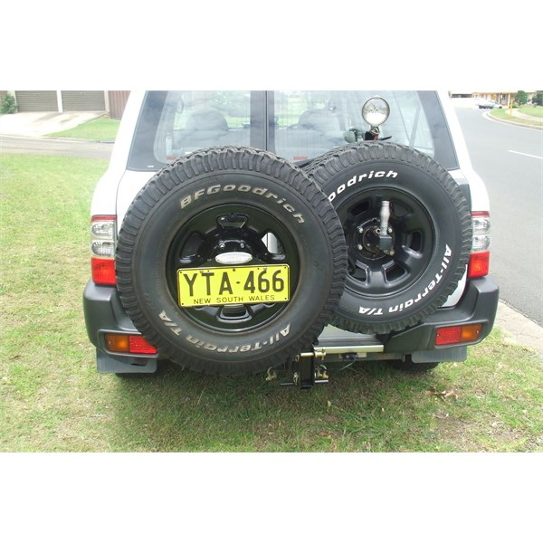 removable spare wheel