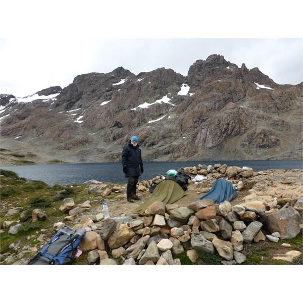 Camp at Laguna Escondida - Dientes De Navarino Circuit