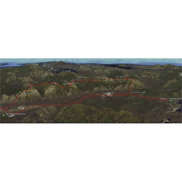 Western Arthurs - Tas