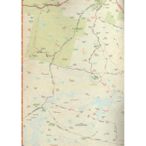 Woodlines Map
