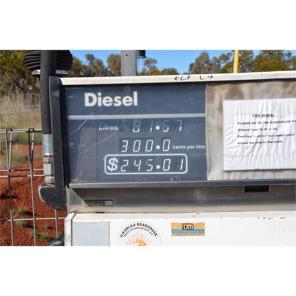 Fuel price at Ilkurlka