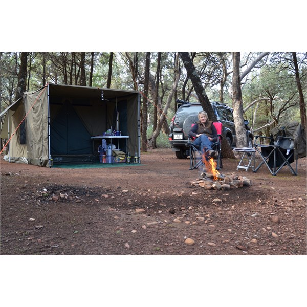 Great natural camping in Wilpena