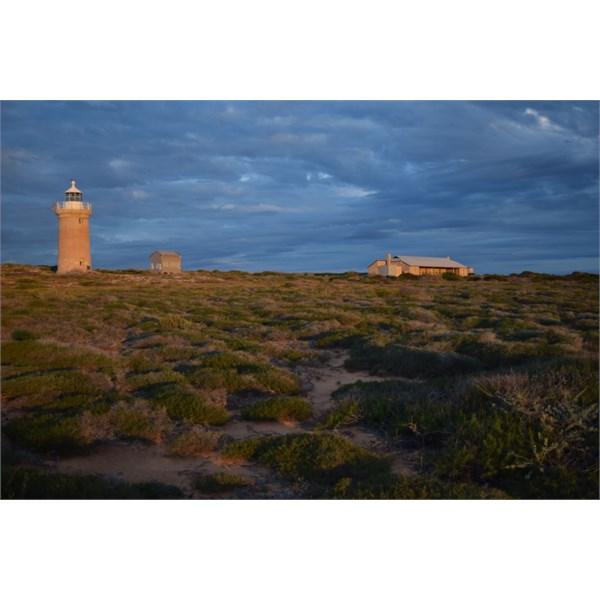 Lighthouse at Cape Inscription
