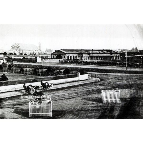 Second Sydney Railway Station, 1879